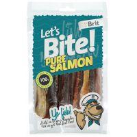 Recompense pentru caini Brit Let's Bite Pure Salmon, 80g