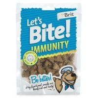 Recompense pentru caini Brit Let's Bite Immunity, 150g