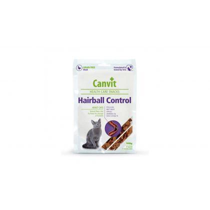 Recompense pentru pisici, Canvit Health Care Hairball Snack, 100 g