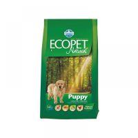 Hrana uscata pentru caini Ecopet Natural Puppy Medium, 5 Kg