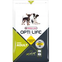 Hrana uscata pentru caini, Versele Laga Opti Life Adult Mini, 7.5 kg