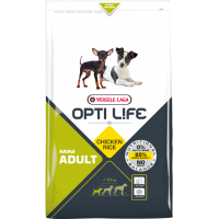 Hrana uscata pentru caini, Versele Laga Opti Life Adult Mini, 2.5 kg