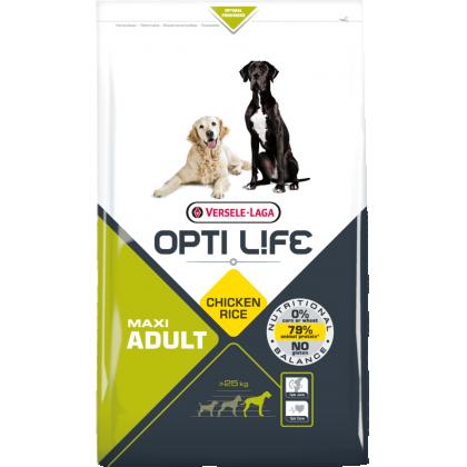 Hrana uscata pentru caini, Versele Laga Opti Life Adult Maxi, 12.5 kg
