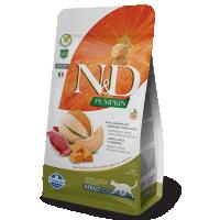 Hrana uscata pentru pisici, N&D Cat Adult cu Rata, Dovleac si Pepene Galben, 1.5 kg
