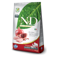 Hrana uscata pentru caini, N&D Grain Free Adult Medium, Pui si Rodie, 12 kg