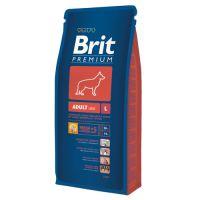Hrana uscata pentru caini Brit Premium Adult L, 15 Kg