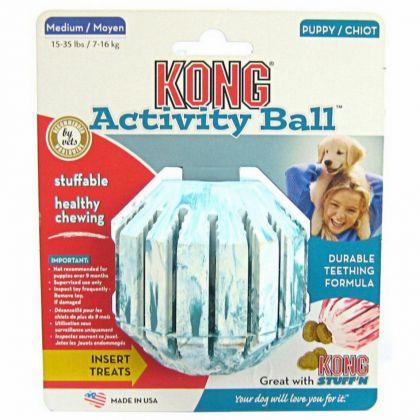 Kong Jucarie Activity Ball, M