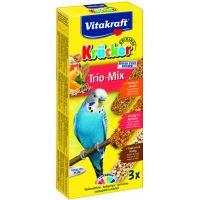 Vitakraft baton perusi trio mix miere/caise/popcorn 3 buc