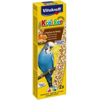 Vitakraft baton perusi popcorn/miere, 2 buc