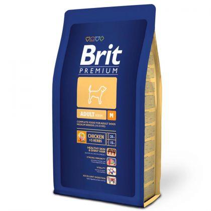 Hrana uscata pentru caini Brit Premium Adult M, 8 Kg