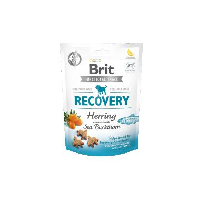 Recompense pentru caini, Brit Care Dog Snack Recovery Herring, 150 g