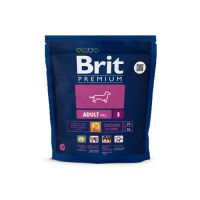 Hrana uscata pentru caini Brit Premium Adult S, 1 Kg