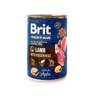 Hrana Umeda pentru Caini, Brit Premium By Nature cu Miel si Hrisca, 400 g