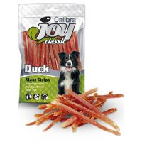 Recompense pentru caini, Calibra Joy Dog Classic Duck Stripes, 80 g