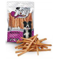 Recompense pentru caini, Calibra Joy Dog Classic Lamb Stripes, 80 g