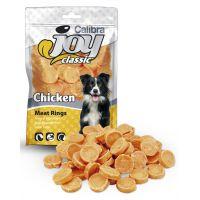 Recompense pentru caini, Calibra Joy Dog Classic Chicken Rings, 80 g