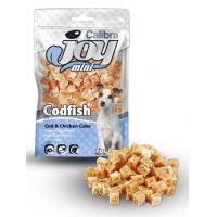 Recompense pentru caini, Calibra Joy Dog Mini Cod and Chicken Cube, 70 g