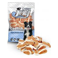 Recompense pentru caini, Calibra Joy Dog Classic Cod and Chicken Sushi, 80 g