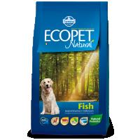 Hrana uscata pentru caini, Ecopet Natural Fish Medium, 12 Kg