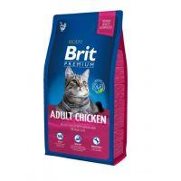 Hrana uscata pentru pisici Brit Premium Cat Adult cu Pui, 8 Kg