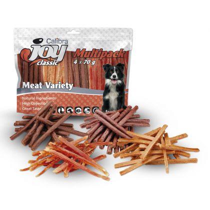 Recompense pentru caini, Calibra Joy Dog Multipack Meat Variety, 4 x 70 g