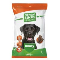 Recompense pentru caini, Boney Dental Sticks Delta, 200 g