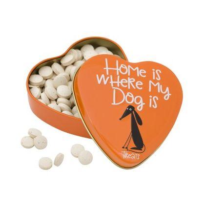 Sanal Dog Yeast Calcium Heart Tin, 60 g