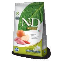 Hrana uscata pentru caini N&D Grain Free Adult Medium, Mistret si Mar, 2.5 kg