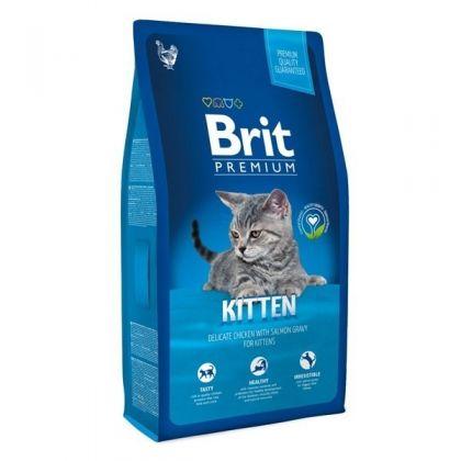 Hrana uscata pentru pisici Brit Premium Cat Kitten, 8 Kg