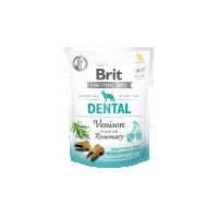 Recompense pentru caini, Brit Care Dog Snack Dental Venison 150 g