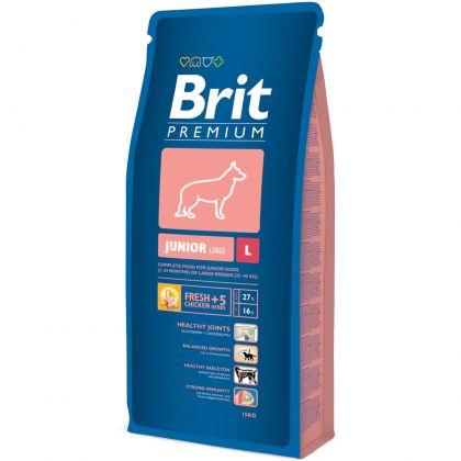 Hrana uscata pentru caini Brit Premium Junior L, 15 Kg