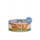 10 x Conserva N&D Cat cu Rata si Dovleac, 80 g