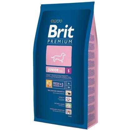 Hrana uscata pentru caini Brit Premium Junior S, 8 Kg