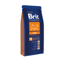 Hrana uscata pentru caini Brit Premium Sport, 15 Kg
