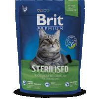 Hrana uscata pentru pisici Brit Premium Cat Sterilized, 1.5 kg