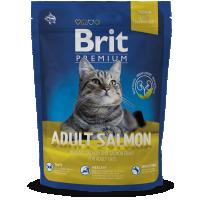 Hrana uscata pentru pisici Brit Premium Cat Adult cu Somon, 1.5 Kg