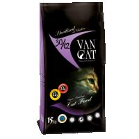 Hrana pentru pisici, VanCat Sterilized cu Pui, 15 kg