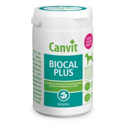 Supliment nutritiv pentru caini, Canvit Biocal Plus for Dogs, 500 g