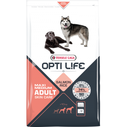 Versele Laga Opti Life Skin Care Medium and Maxi 12.5 kg