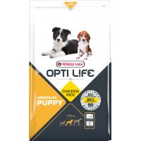 Hrana uscata pentru caini, Versele Laga Opti Life Puppy Medium 2.5 kg