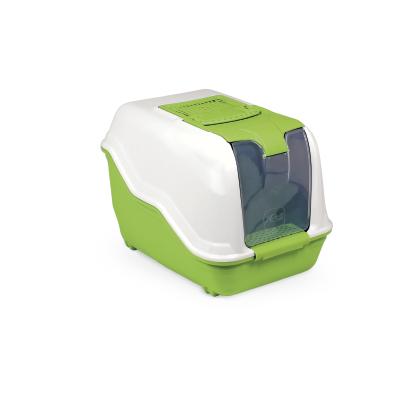 Litiera Netta Close Verde, 54x39x29 cm