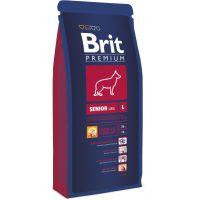Hrana uscata pentru caini Brit Premium Senior L, 15 Kg