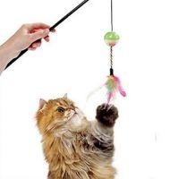Jucarie Pisica Undita cu Minge si Fulgi