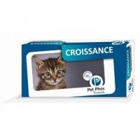 Supliment alimentar pentru pisici, Pet Phos Feline Croissance, 96 tablete
