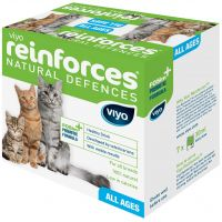 Supliment nutritiv pentru pisici, Viyo Reinforces Cat 7 x 30 ml