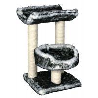 Ansamblu pentru pisici, Isaba 62 cm Alb/Negru