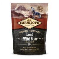 Hrana uscata pentru caini Carnilove Dog Adult Miel si Mistret, 1.5 Kg