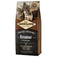 Hrana uscata pentru caini Carnilove Adult Dog cu Ren, 12 Kg