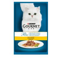Hrana umeda pentru Pisici, Gourmet Perle Pui in Sos, 85 g