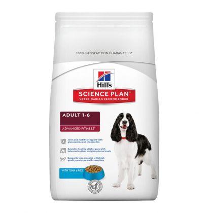 Hrana uscata pentru caini Hill's SP Canine Adult Medium cu Ton si Orez, 3 Kg